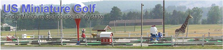 Find a miniature golf course in your state